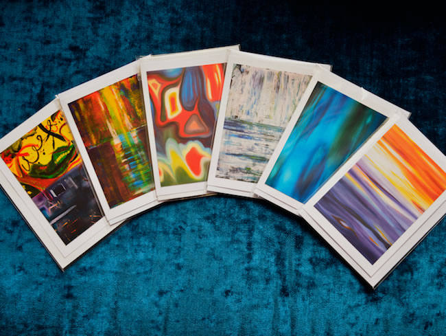 artstudiov abstract art greetings cards